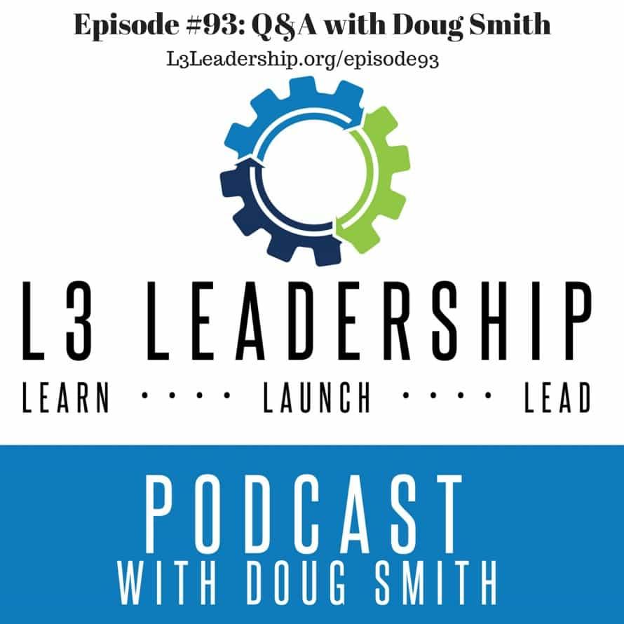 Episode #93- Q&A with Doug Smith
