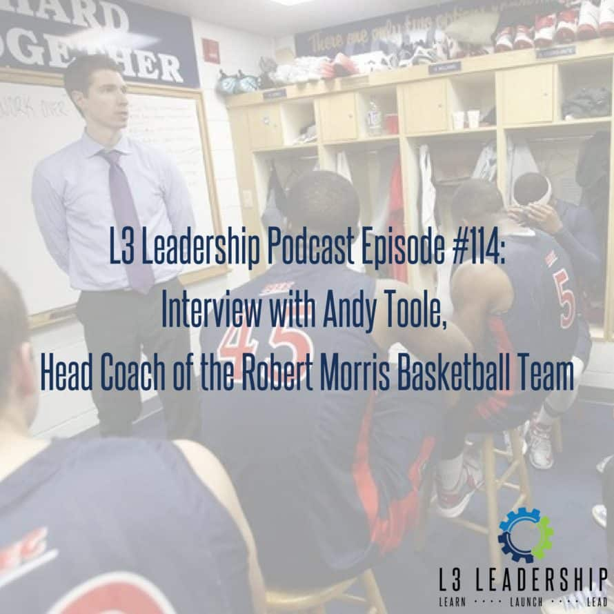 Interview with Andy Toole, Coach of the Robert Morris University Basketball Team