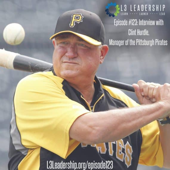 L3 Leadership Podcast Episode #123: Interview with Clint Hurdle, Manager of the Pittsburgh Pirates