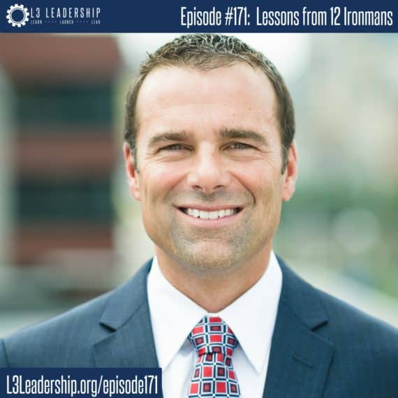L3 Leadership Podcast Episode #171: Lessons Learned from 12 Ironmans