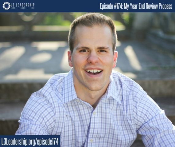 L3 Leadership Podcast Episode #174_ My Year-End Review Process