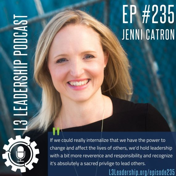 Jenni Catron on the Sacred Act of Leading Others
